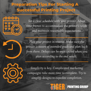 Preparation Tips For Starting A Successful Printing Project